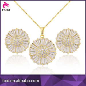 China 2018 New Style Design Fashion Jewelry Of Cz 18k Gold Plated