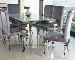 Fabulous Modern Dining Room Furniture Stainless Steel Louis Dining Table Set Spiritservingveterans Wood Chair Design Ideas Spiritservingveteransorg