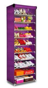 Charmant Fabric Shoe Storage Zipper Close Waterproof Shoe Rack 50 Pairs