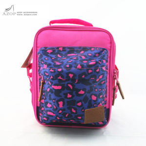 China Leopard Print Polyester Lunch Box