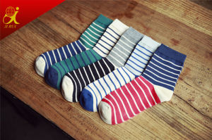 High Quality Compression Socks Men Stripe Socks Wholesale