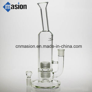 High Quality Oil DAB Rig Glass Perc Water Pipe (ZY006) pictures & photos