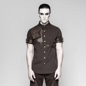 Y-757 Punk Rave Latest Style Exquisite Woven Man Shirts