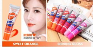 Magic Lip Gloss Waterproof Long Lasting Peel off Mask Tattoo Lipstick Makeup Set pictures & photos
