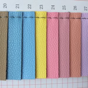 Lychee PVC Leather for Making Bags pictures & photos