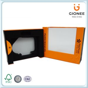 Paper Packaging Box with Foam Inset&Die-Cut Window pictures & photos