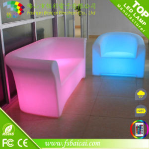Multipurpose Cost Effetive Ldpe Plastic Led Hookah Lounge Furniture
