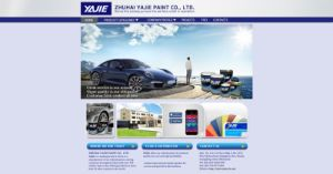 China Acrylic Car Paint Manufacturer pictures & photos