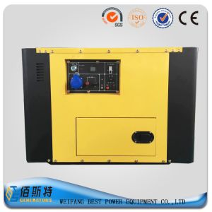 5kw China Factory Small Silent Generator Set with Diesel Engine