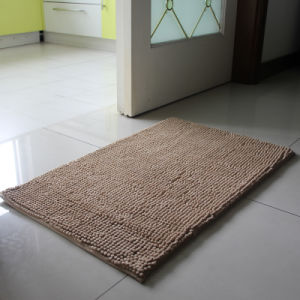 China Factory Sell Cheaper Chenille Bath Mat