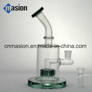 9 Inch Matrix Perc Glass Smoking Water Pipe (AY018) pictures & photos