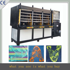 Kpu Shoes Upper Pressing Machine, Sport Vamp Making Machine pictures & photos