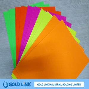 Self Adhesive Fluorescence Paper Sticker for Packing