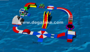 Cheap Price Inflatable Floating Water Game, Water Park