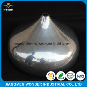 Single Coat Mirror Silver Chrome Plating Effect Powder Coating for Steel Wire pictures & photos