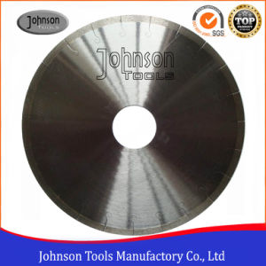 300mm Silver Brazed Continuous Ceramic Tile Saw Blades with J Slot pictures & photos