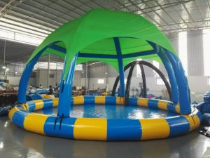 Customized Huge Inflatable Pool with Cover pictures & photos