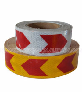 High Intensity Micro-Prismatic Type Safety Warning Pet Reflective Tapes pictures & photos