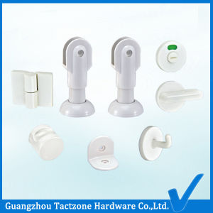Factory Directly Toilet Cubicle Bathroom Partition Hardware Plastic Accessories