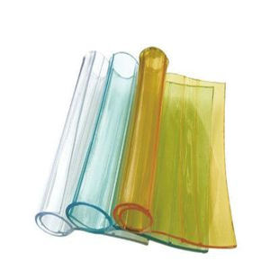 Colorful Transparent Soft PVC Curtain Sheet / Roll pictures & photos