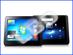 10 Inch Tablet PC With Windows 7 and Android 2 2 OS Tablet MID