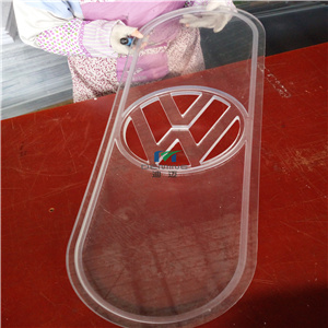 Custom Polycarbonate Cover for LED Light