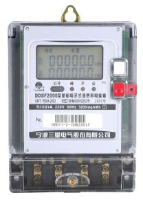 Single-Phase Multi-Tariff Static Meter (DDSF2000 H1)