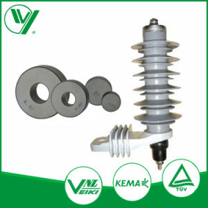 Outdoor Rated Voltage 12-36kv porcelain Polymer Lightning Protecting Arrester pictures & photos