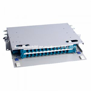 24 Fibers ODF 19′′ Rack Mount Distribution Box (ODF-B-24)