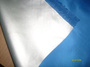 100% Polyester Taffeta (190T) with Silver Coating