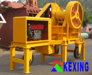 Efficient Small Mobile Jaw Crusher (PE150*250)