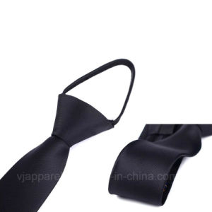 Perfect Price High Quality Solid Zipper Necktie for Sale