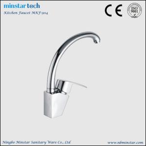 Household Restaurant Plumbing Fixtures High Quality Gooseneck Kitchen Faucet