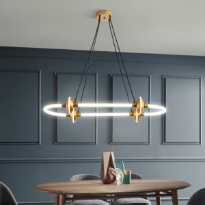 Chandelier Lamp Modern Minimalist LED Nordic Pendant Lamp Dining Room