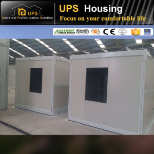 Wooden Style Looking Modified Shipping Container House with High Quality pictures & photos