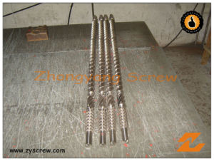 Bimetallic Single Screw and Barrel for Extrusion Machine pictures & photos