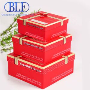 Color Printed Paper Cardboard Gift Boxes Packing (BLF-PB011) pictures & photos