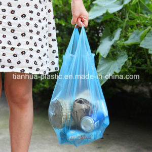 Plastic Carrier Bag T-Shirt Vest Printing Shopping Bag
