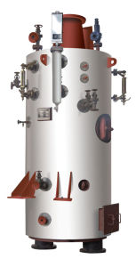 Lfy Marine Vertical Gas-Tube Exhaust Gas Boiler