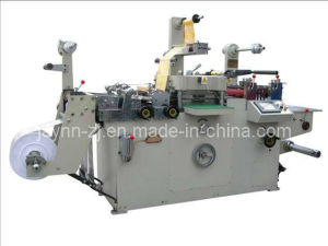 Full-Automatic Roll-Roll Continuous Free Adhesive Tape Die Cutter (JMQ-320B) pictures & photos