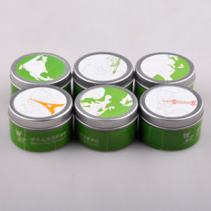 Round Fragrance Oil Candle Tin Packaging Box pictures & photos