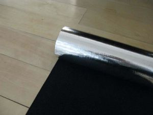Heat Insulation Aluminum Foil Carbon Fiber Cloth (AF-2116) pictures & photos