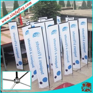 Custom Polyester Table Teardrop Flag for Promotion