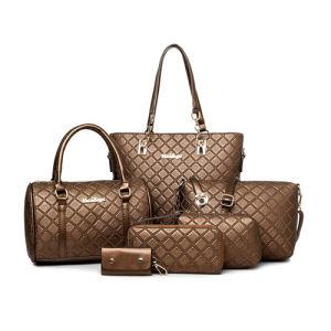China Latest New Handbags for Woman Designer Bag Set 6 in 1 Bag Set - China  Handbag 0cc5159c416d5