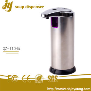 Automatic Soap Dispenser Stainless Steel Countertop Touchless Sensor Soap Handfree Auto-Soap for Kitchen and Bathroom
