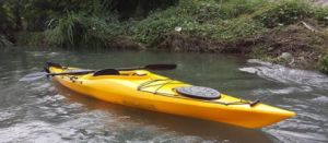 Canoe Plastic Sea Kayak Sit in Ocean Kayak with Paddle pictures & photos