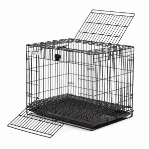 PVC Coated Pet Cage with Plastic Chassis (TS-E103) pictures & photos