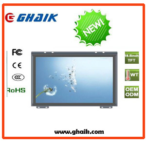 "19"" Pct Open Frame Monitor, Dual Touch"