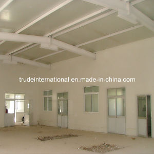 Prefabricated/Prefab Sandwich Panel Steel Warehouse pictures & photos