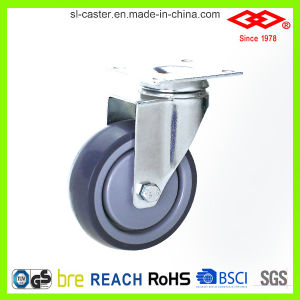 TPR Swivel Plate Castor Wheel (P111-34E125X32) pictures & photos